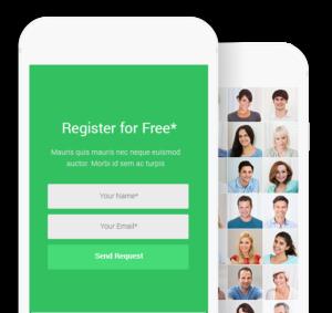 register for free phone