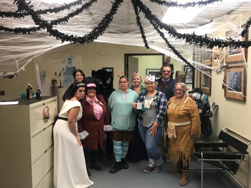 Office halloween photo 2018