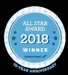 All Star Award 2018 winner