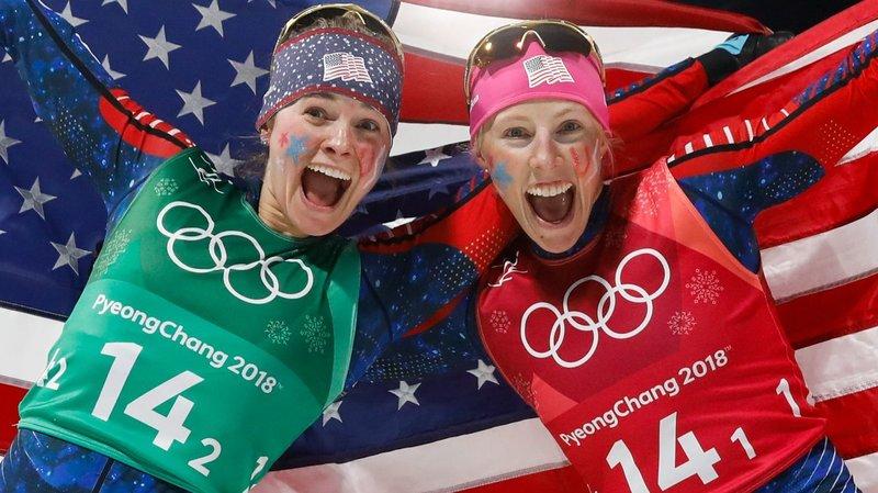 girls win the 2018 olympics